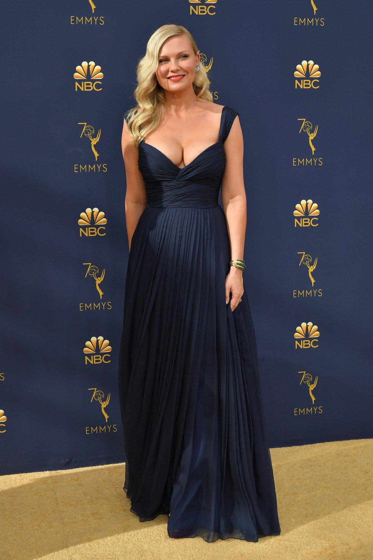 Kirsten Dunst 70th Primetime Emmy Awards, Arrivals, Los Angeles, USA - 17 Sep 2018, Image: 387155284, License: Rights-managed, Restrictions: , Model Release: no, Credit line: Profimedia, TEMP Rex Features