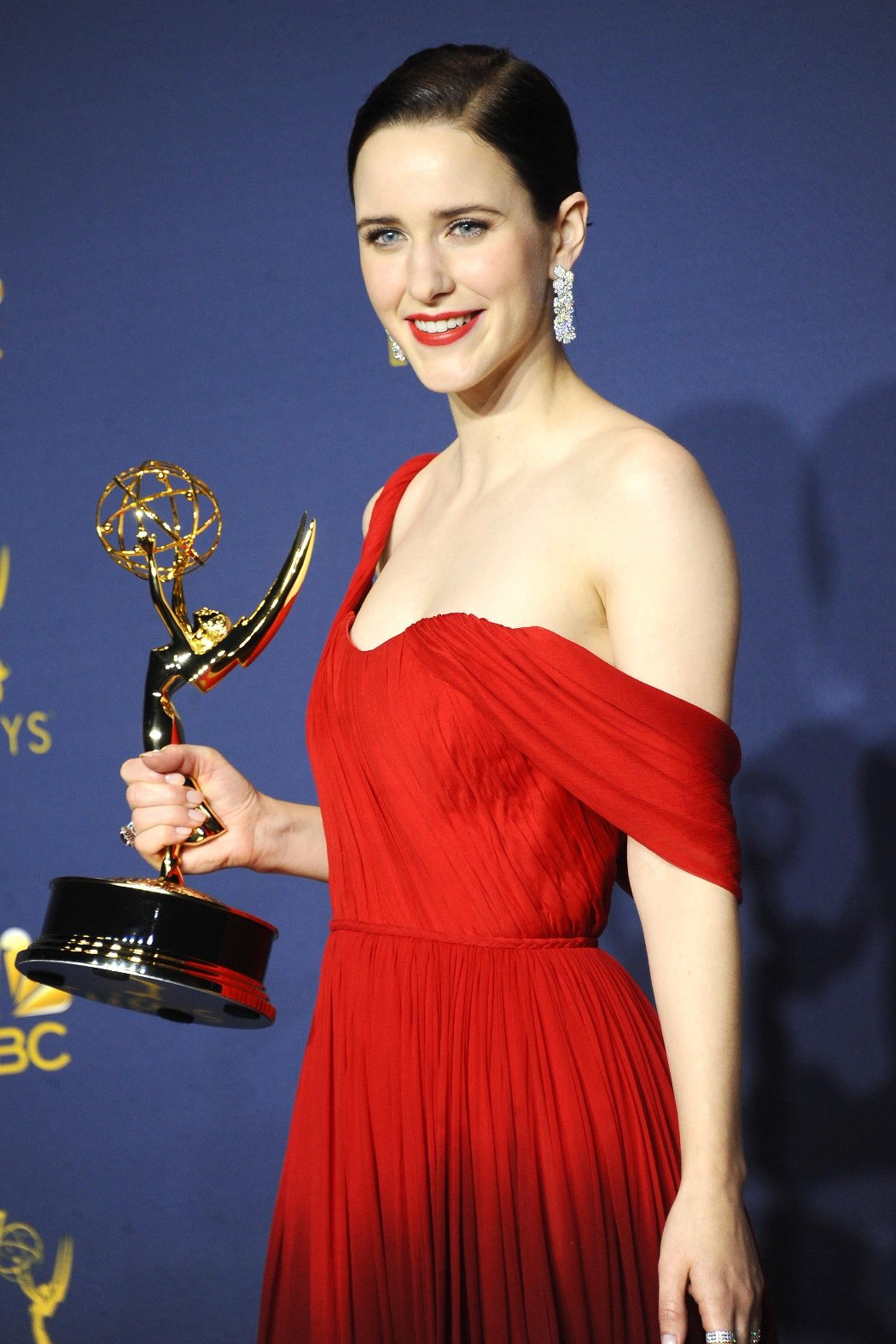 , Los Angeles, CA -20180917 - The 70th Primetime Emmy Awards Press Room, at Microsoft Theater  -PICTURED: Rachel Brosnahan -, Image: 387163936, License: Rights-managed, Restrictions: , Model Release: no, Credit line: Profimedia, INSTAR Images
