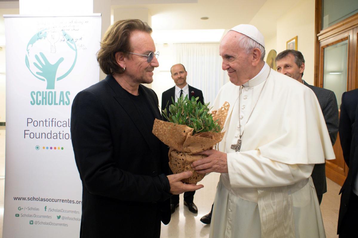 Bono Vox i Papa Franjo