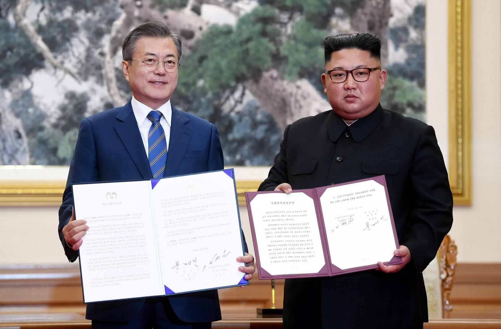 Moon Jae-in i Kim Jong Un