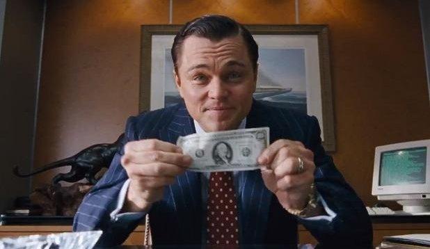 Ilustracija: Leonardo DiCaprio u filmu Vuk s Wall Streeta