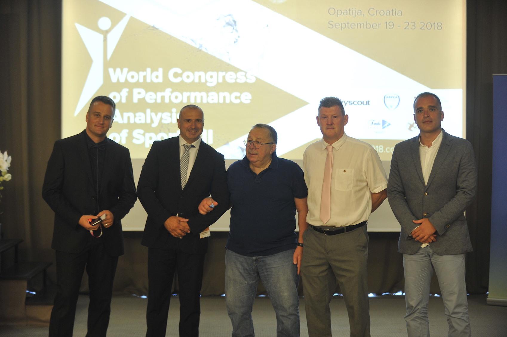 Goran Sporiš, Tomislav Krističević, Mike Hughes, Nic James i Stevo Popović