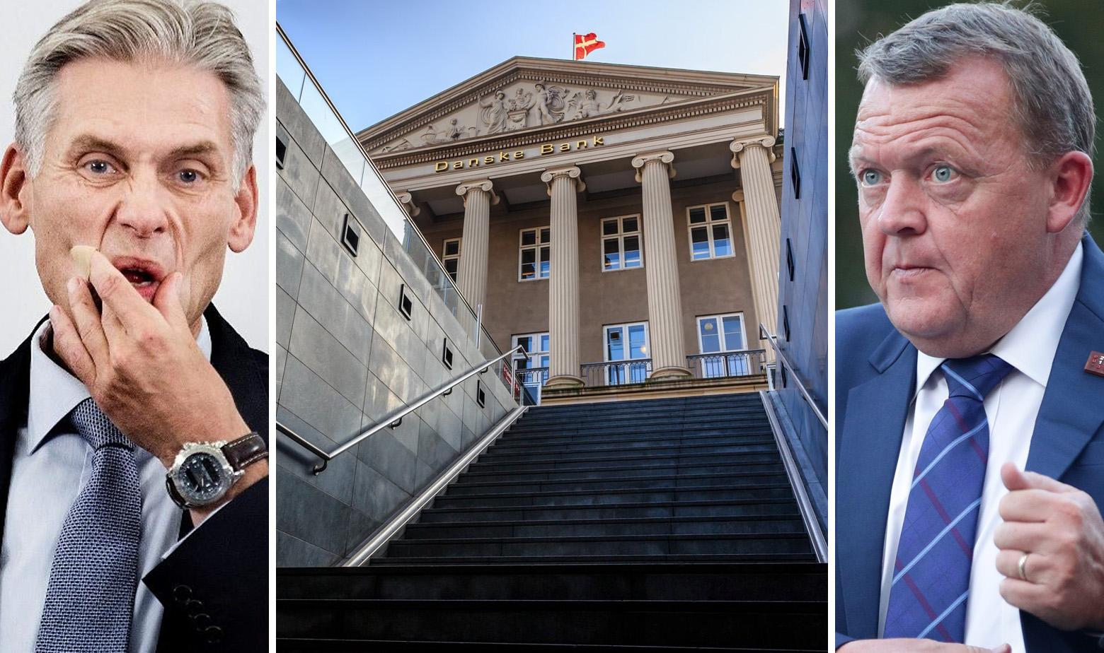 Thomas Borgen, Središnja zgrada Danske Bank i danski premijer Lars Løkke Rasmussen