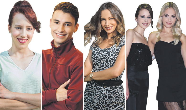 Lucija Stefania Glavich Mandarić, Roko Sikavica, Martina Stjepanović, Dora Dimić Rakar i Tara Thaller