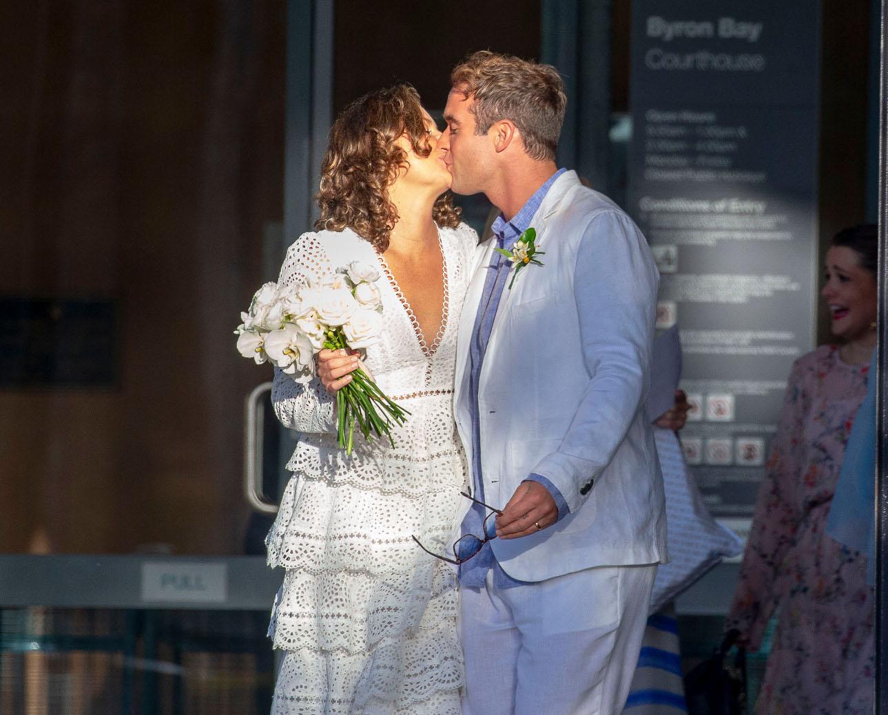 Poljubac nakon vjenčanja