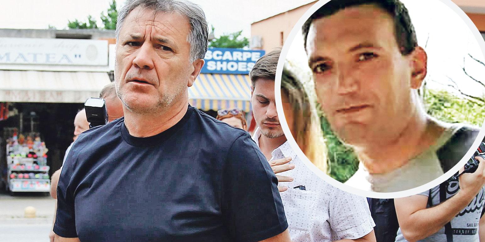 Zdravko Mamić (lijevo) i Franjo Varga ( u krugu)