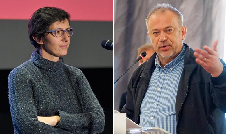 Maja Sever i Zoran Šprajc