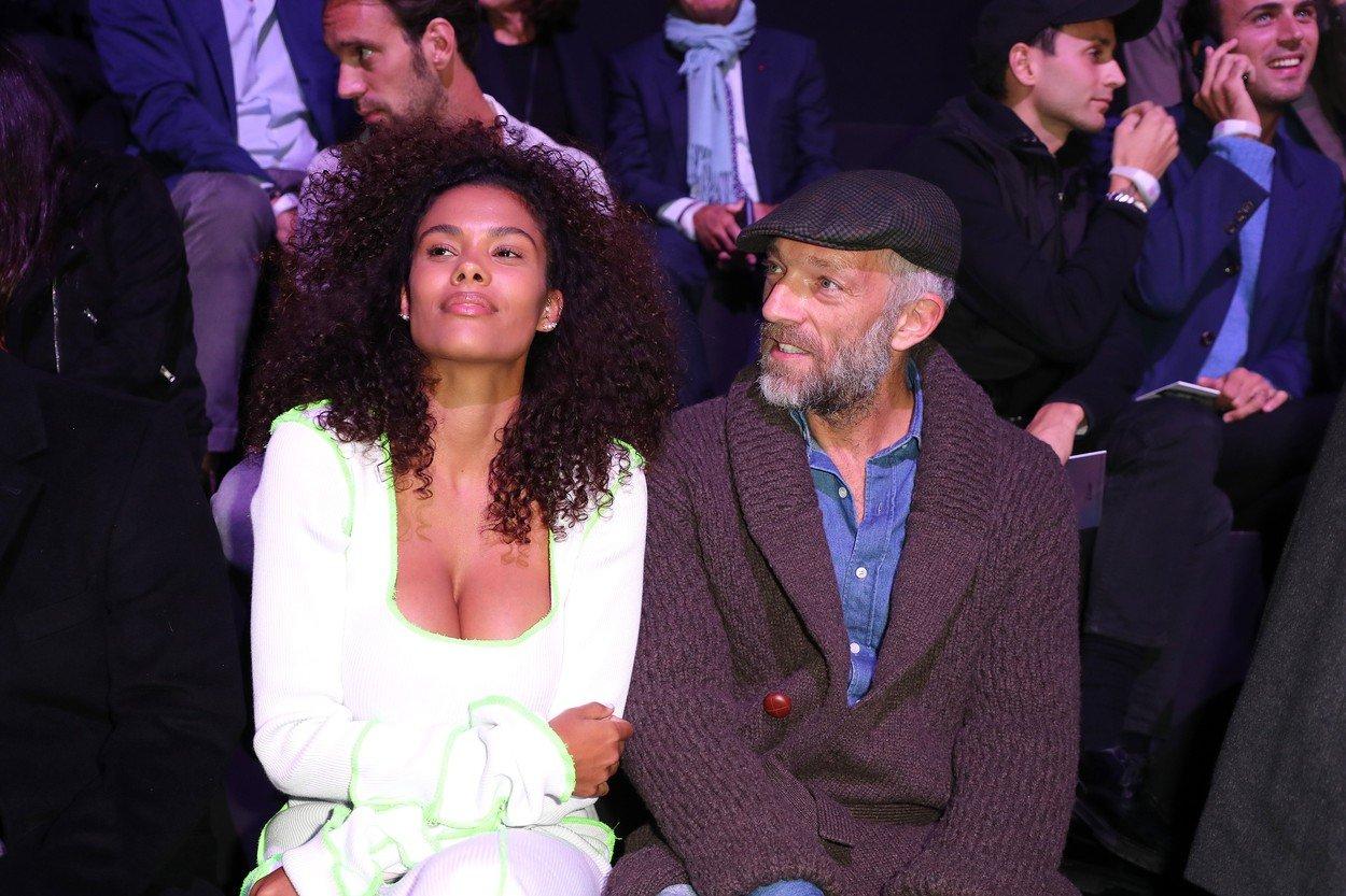 Tina Kunakey , Vincent Cassel pose during ETAM Show ,on september 25, 2018 at ecoles des Beaux Arts, Paris, France.//PARIENTE_10590013/Credit:JP PARIENTE/SIPA/1809261120, Image: 388486730, License: Rights-managed, Restrictions: , Model Release: no, Credit line: Profimedia, TEMP Sipa Press