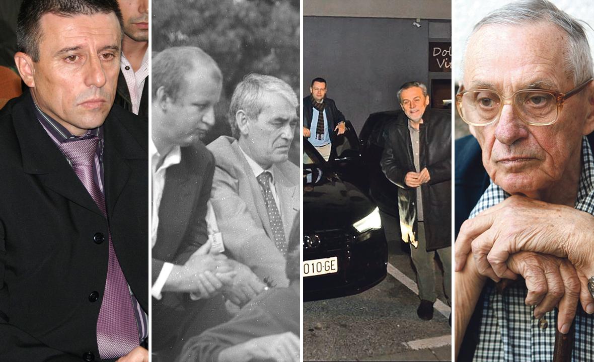 Danijel Miočić, Ljubo Ćesić Rojs i Gojko Šušak, Ivan Juričić i Milan Bandić, Josip Boljkovac