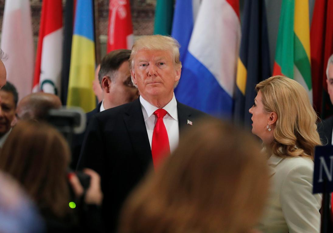 Donald Trump, Kolinda Grabar-Kitarović