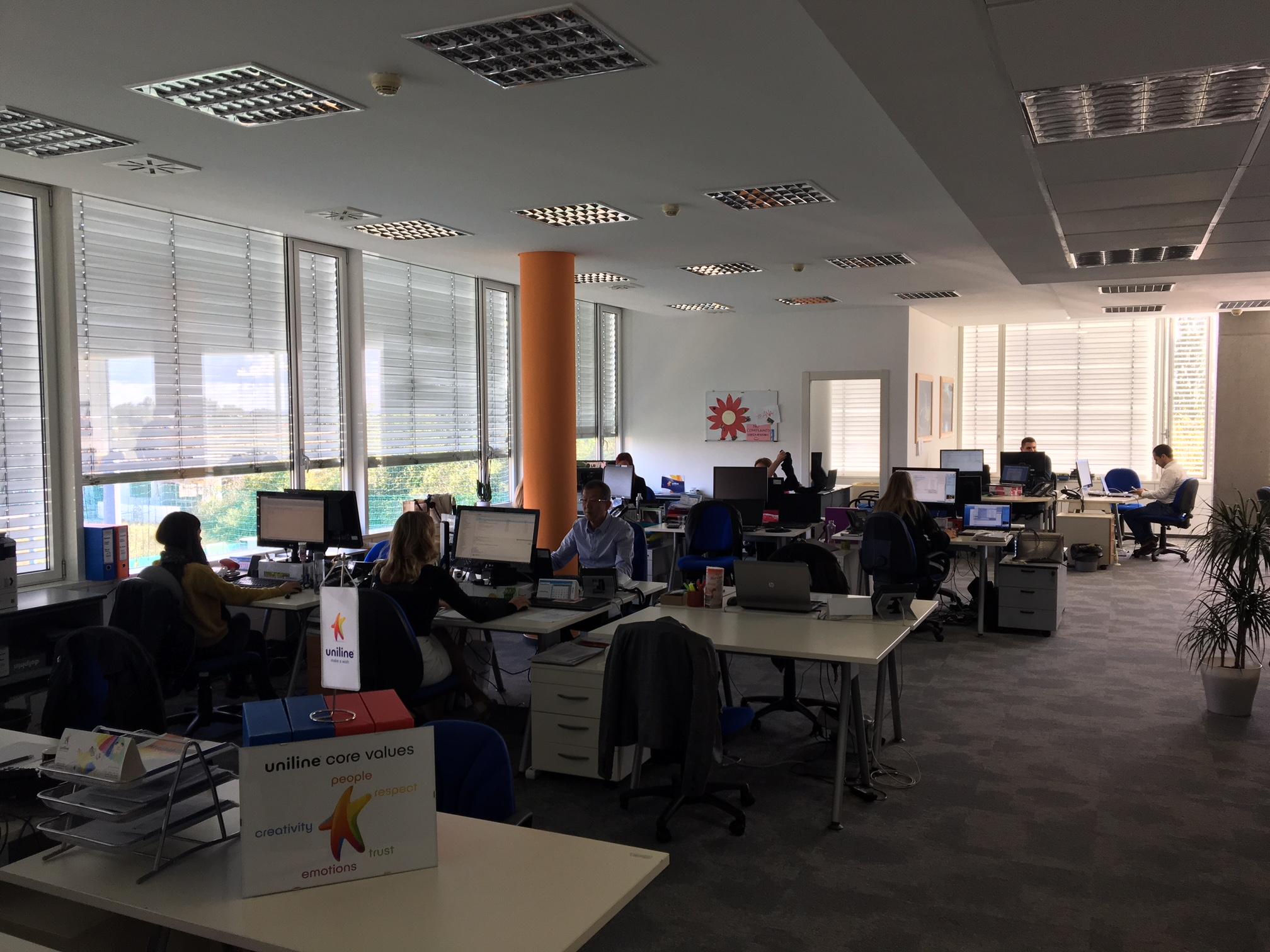 Novi ured Uniline u Zagrebu