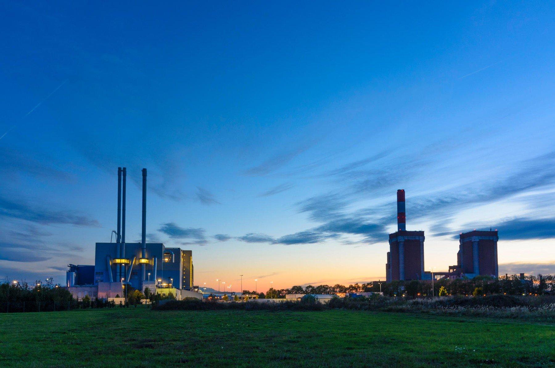 Pogled na elektranu u Zwentendorfu (Austrija)