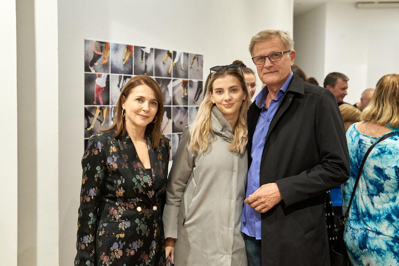 Sanja Vejnović i Goran Mećava s kćeri Martom