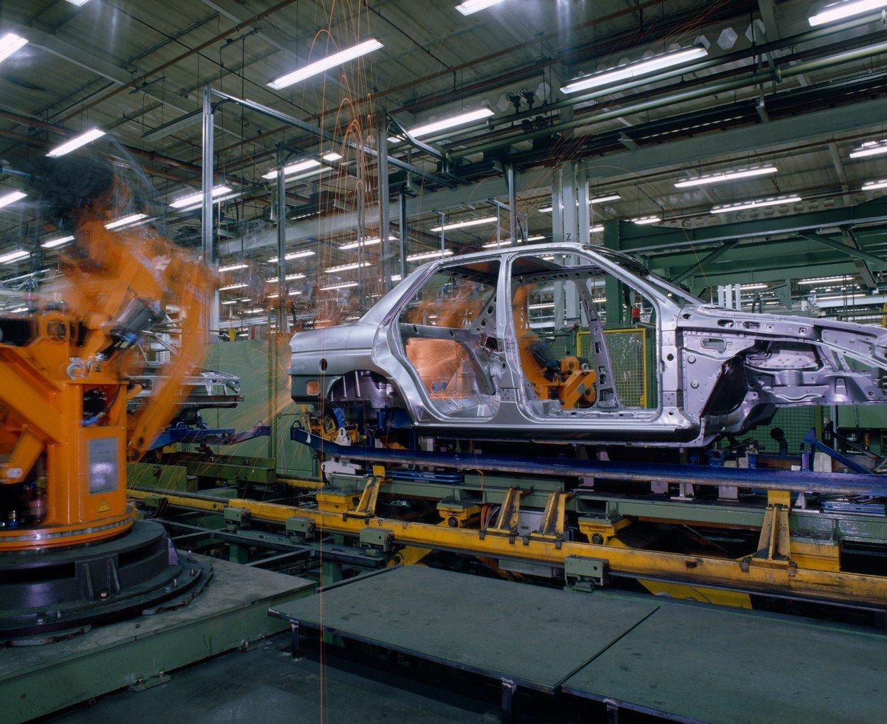 Ilustracija, tvornica Forda