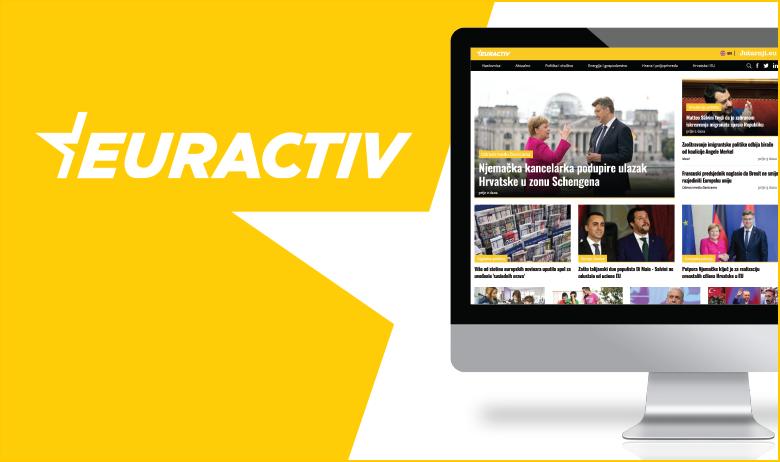 Novi web projekt Euractiv.hr