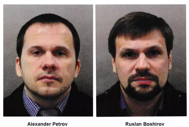 Alexandar Petrov i Ruslan Boshirov, Rusi osumnjičeni za trovanje bivšeg špijuna Sergeja Skripala i njegove kćeri Julije