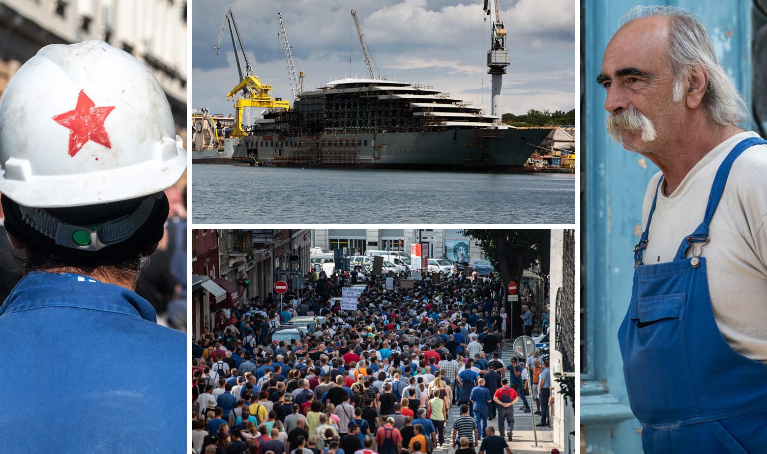 Brodogradilište Uljanik i radnici Uljanika tijekom štrajka