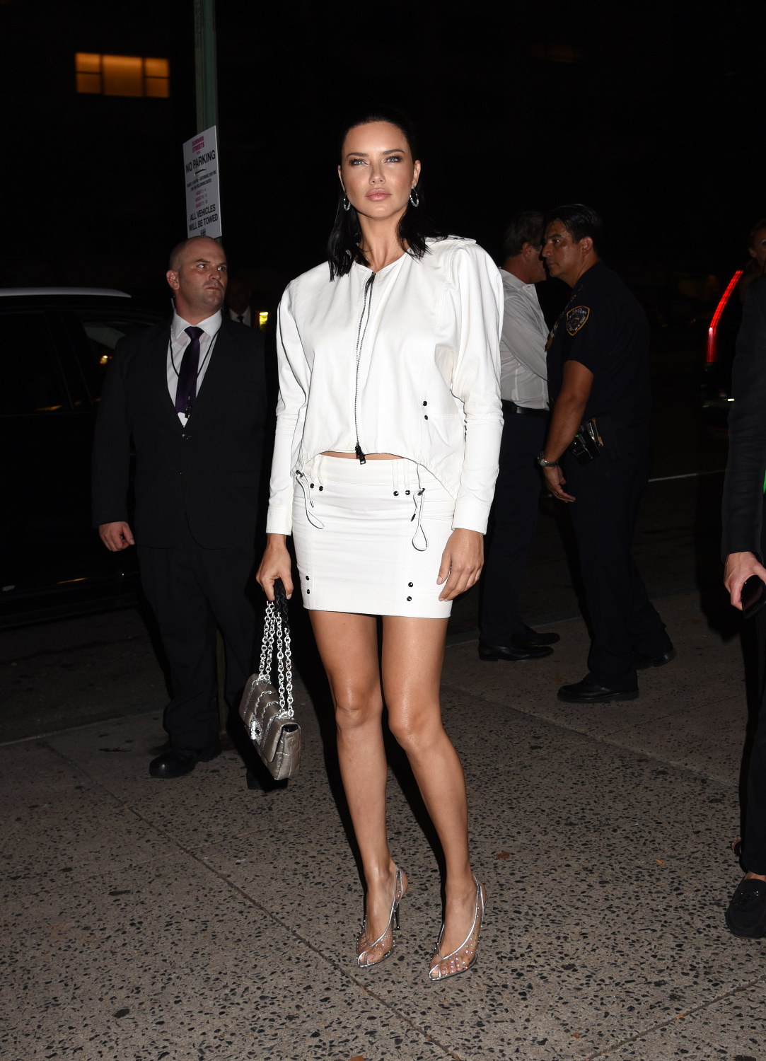 Celebrities attend the NYFW Tom Ford Spring/Summer 2019. Held @ Park Avenue Armory, New York City, NY. September 5, 2018. ? Photo Image Press/Splash News  Pictured: Adriana Lima Ref: SPL5021148 050918 NON-EXCLUSIVE Picture by: Photo Image Press/Splash News / SplashNews.com  Splash News and Pictures Los Angeles: 310-821-2666 New York: 212-619-2666 London: 0207 644 7656 Milan: +39 02 4399 8577 Sydney: +61 02 9240 7700 photodesk@splashnews.com  World Rights