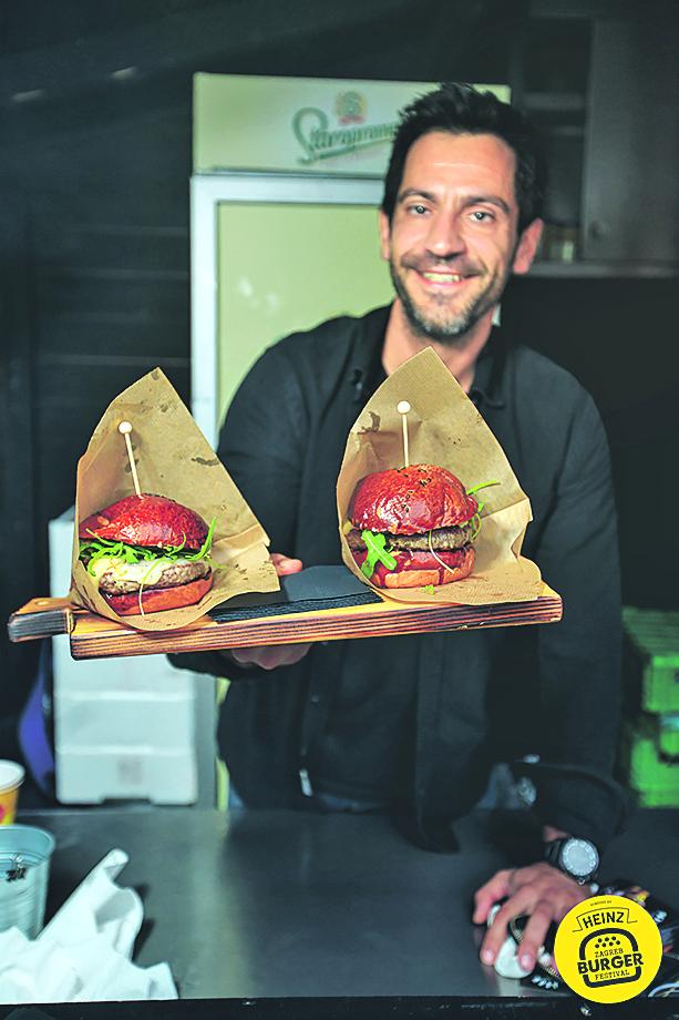 Ivan Zidar iz Pule predstavit će slasne burgere na Zagreb Burger Festivalu