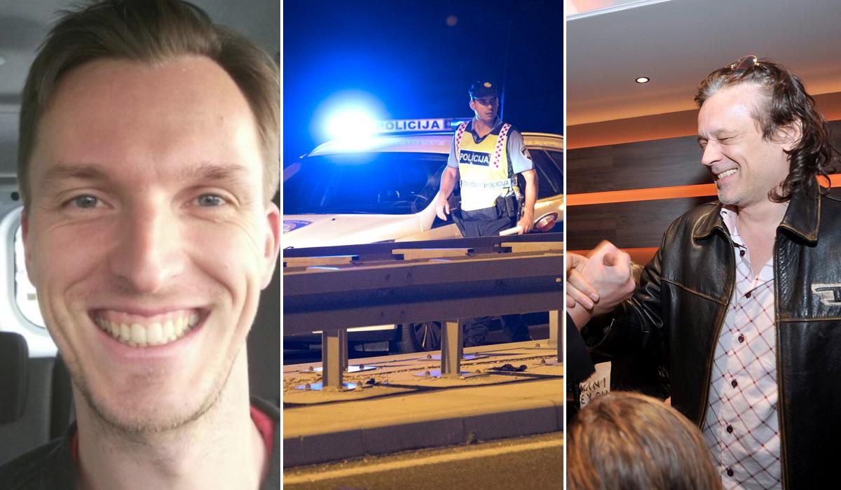 Lijevo: Poginuli Vjeran Dasović (34) koji je prelazio zebru kad je na njega naletio Dražen Scholz (desno). U sredini: Ilustracija