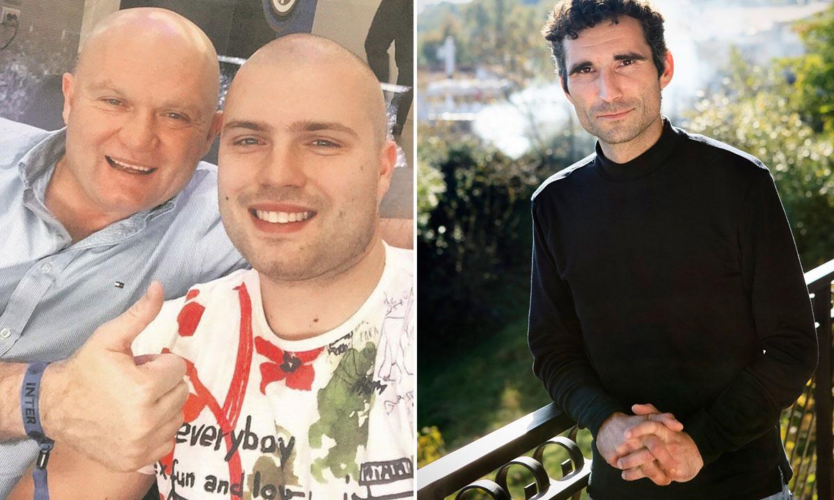 Mladen i David Kruljac (lijevo), Huanito Luksetić (desno)