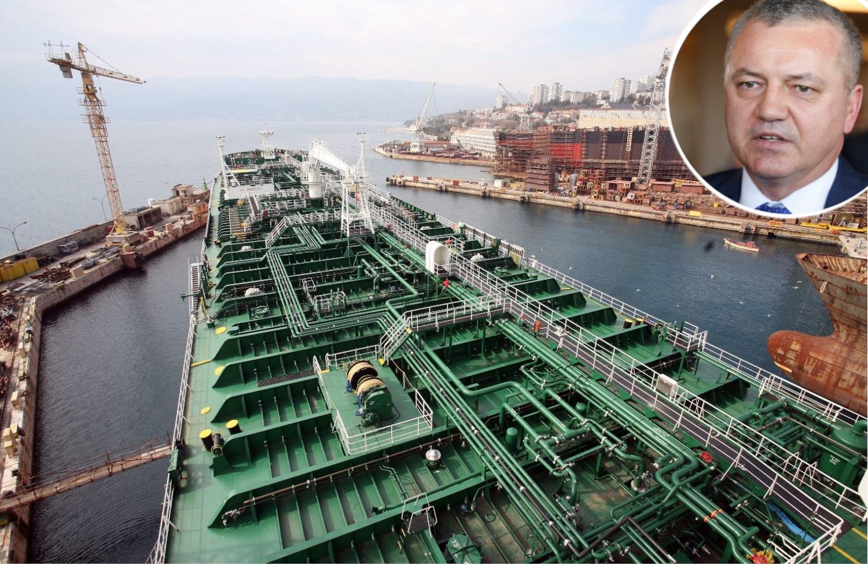 Tanker Pomer za Uljanik Plovidbu i Darko Horvat u krugu