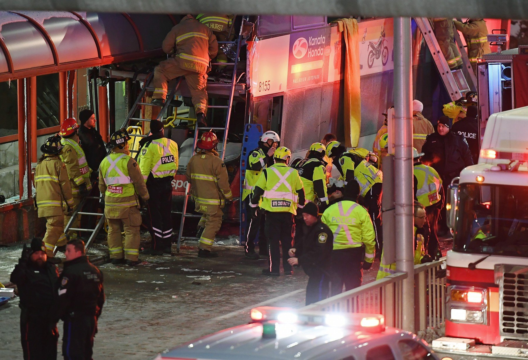 Prometna nesreća u Ottawi