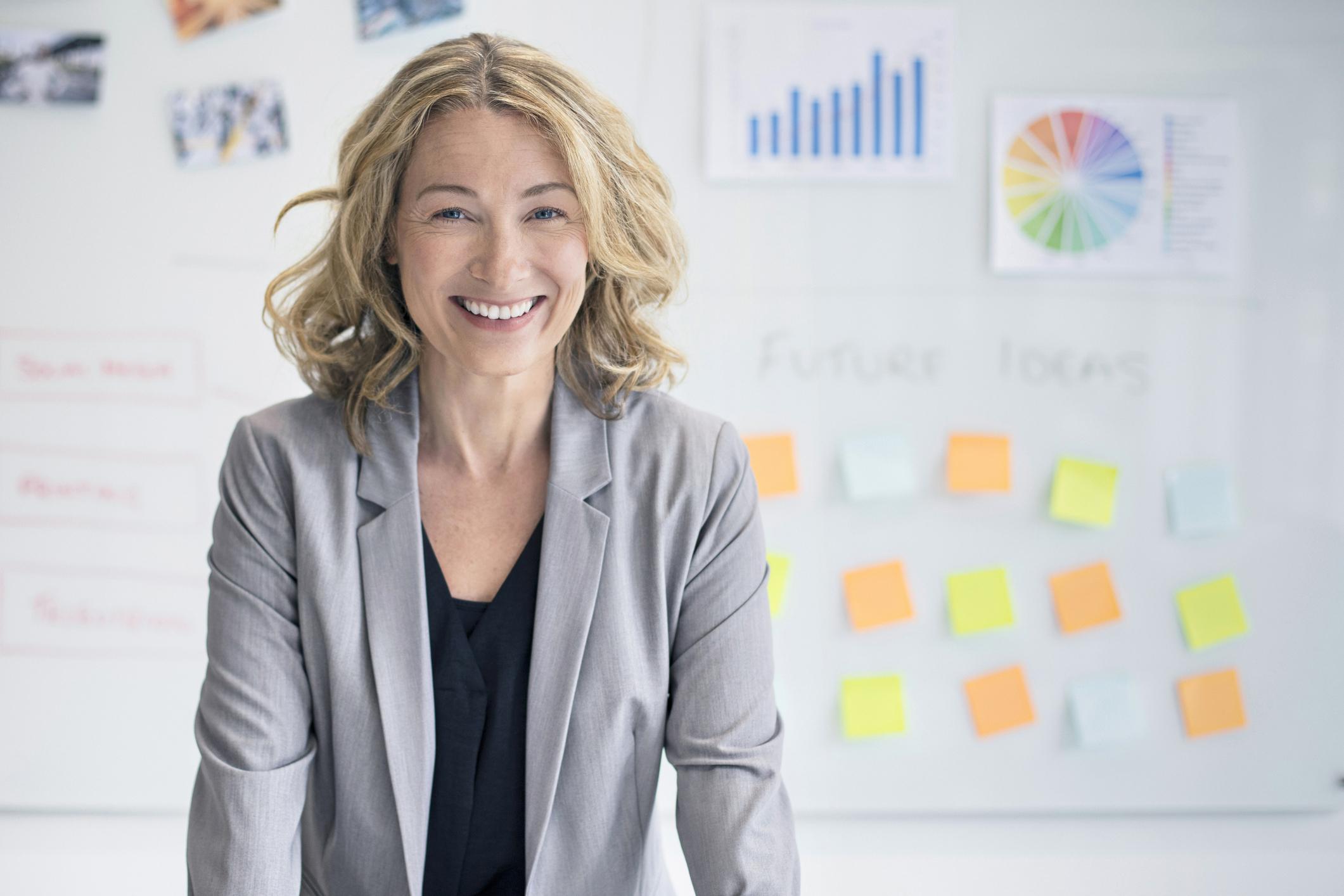 Poduzetnica, ilustracija