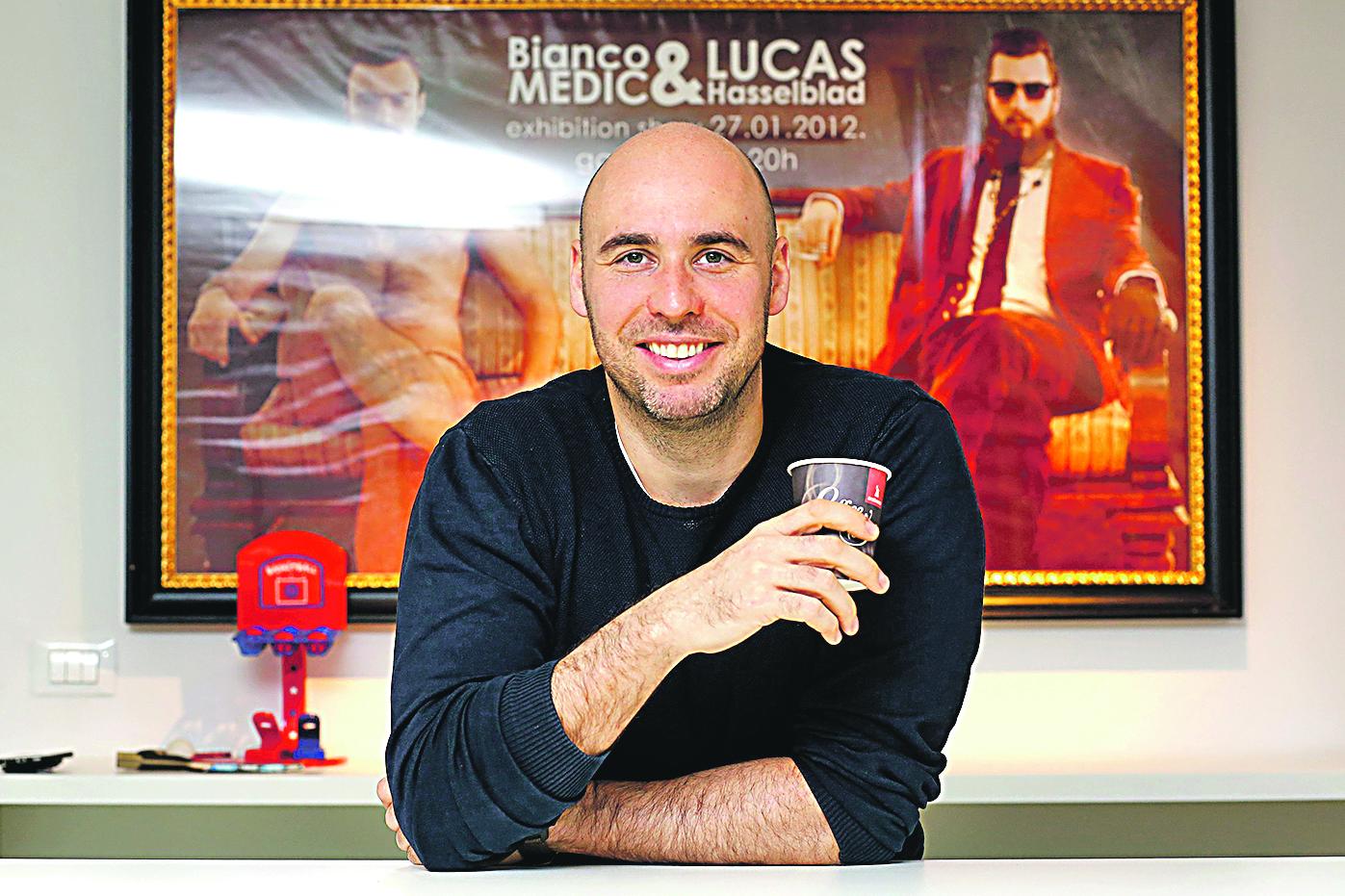 Filip Ljubić, direktor i osnivač tvrtke Q software