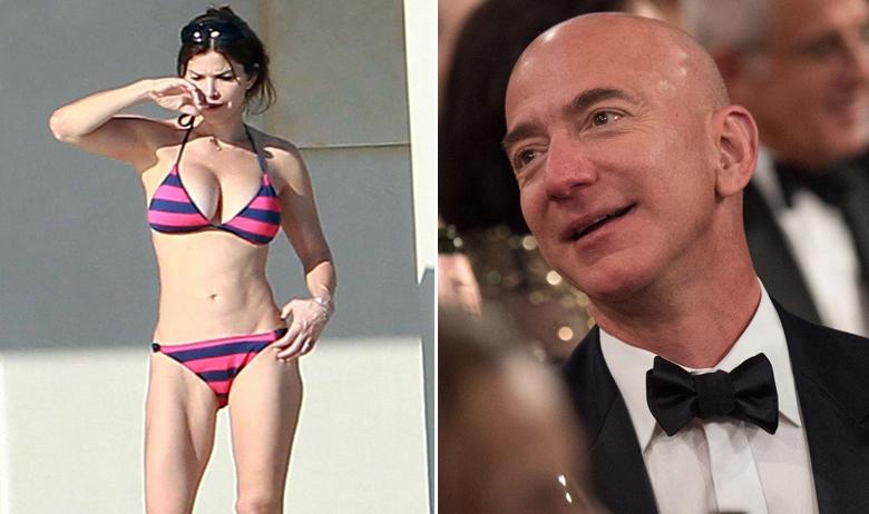 Lauren Sanchez i Jeff Bezos