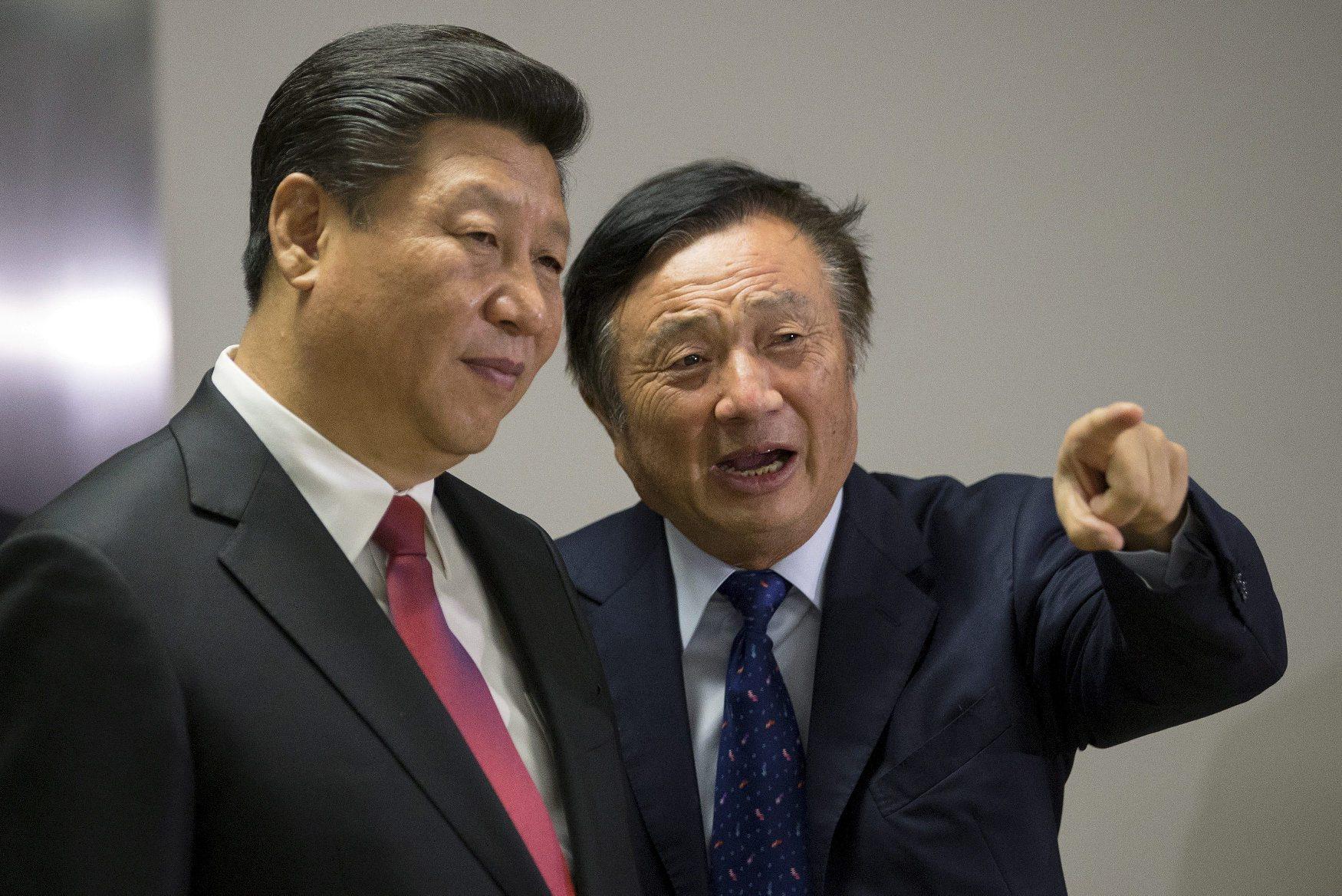 Xi Jinping, predsjednik Kine i Ren Zhengfei, osnivač Huaweia