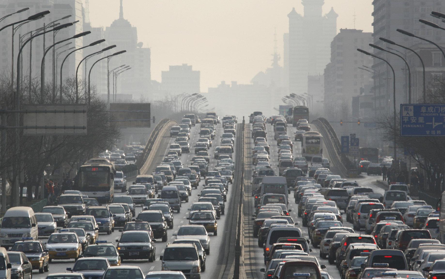 Prometna gužva u Pekingu