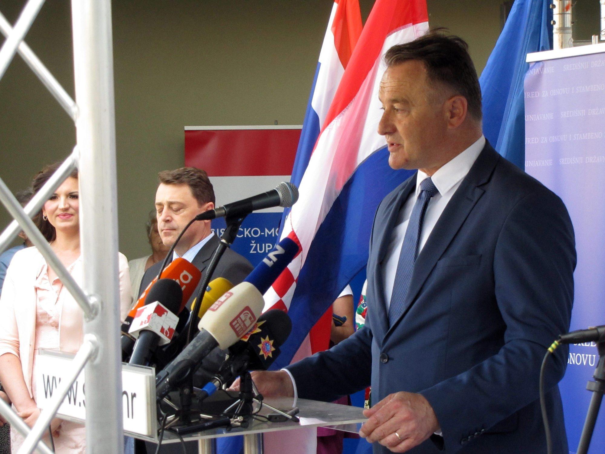 Na fotografiji: Župan Ivo Žinić