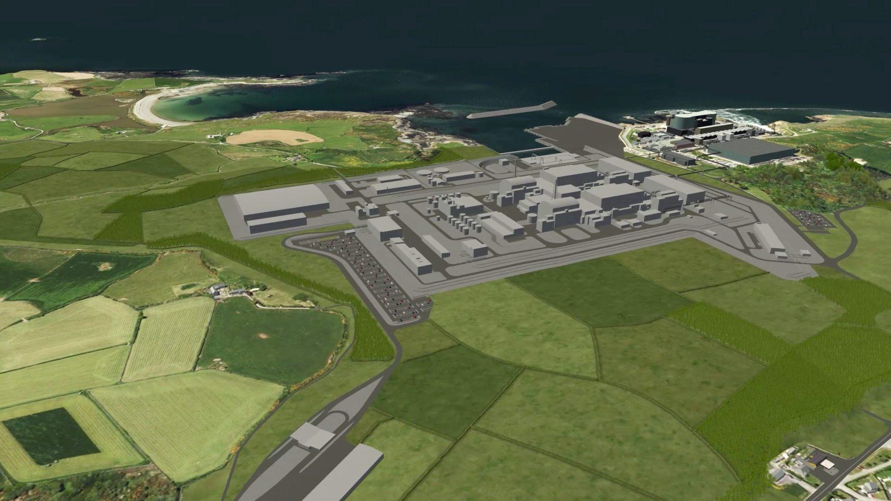 Render nuklearne elektrane u Walesu