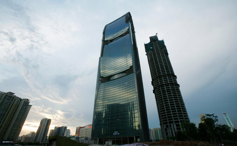 Arhivska fotografija: Pearl River Tower u Guangzhouu, u kojem urede ima i CNTC