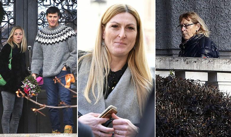 U posjet Janici stigli su danas Marica Kostelić te Ivica sa suprugom Elin