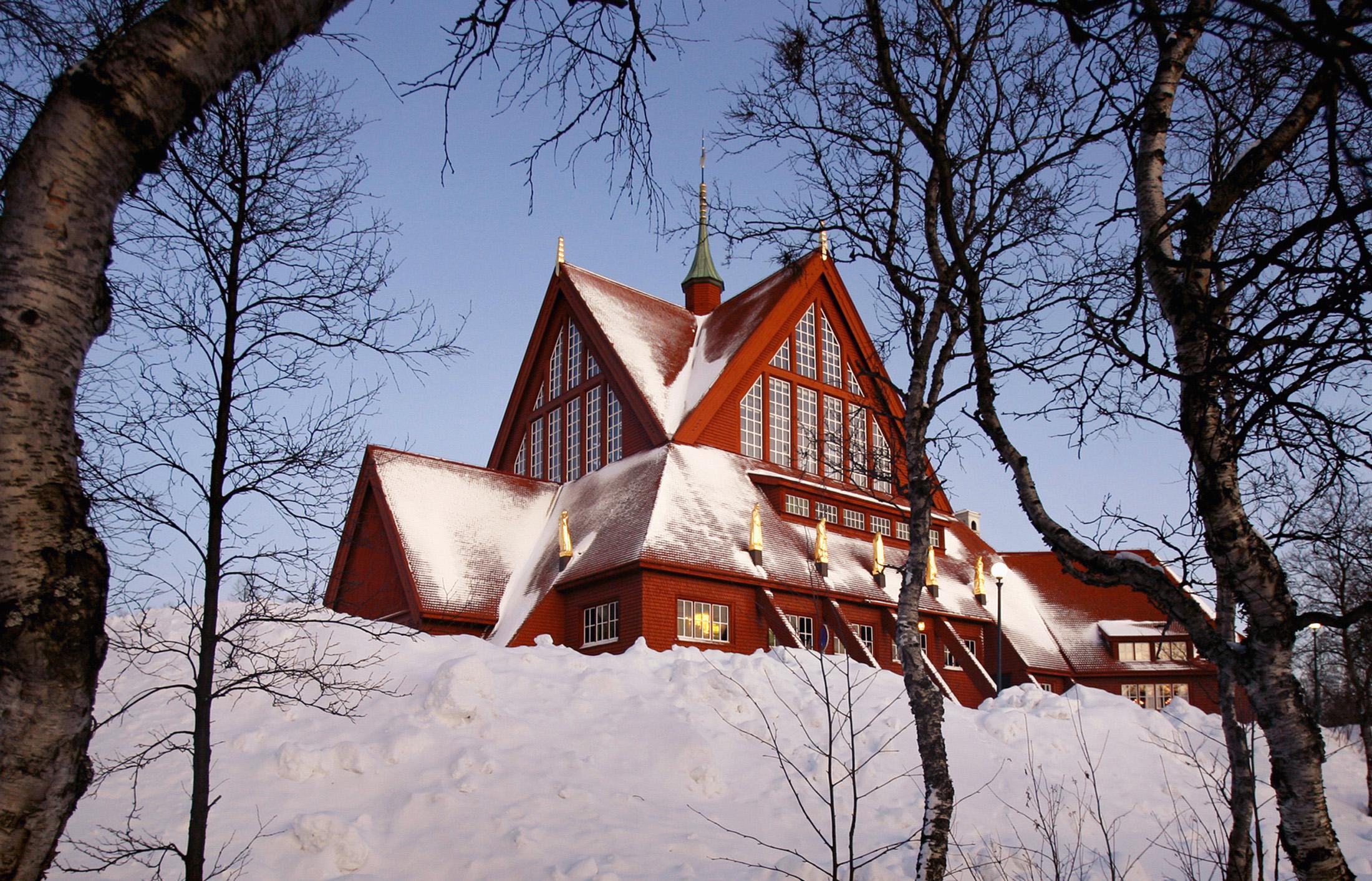 Crkva u Kiruni, Švedska