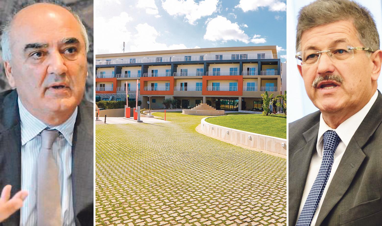 Slijeva na desno: Angelo Xuereb, vlasnik tvrtke AX Holding, projekt te kompanije na Malti i gradonačelnik Opatije Ivo Dujmić