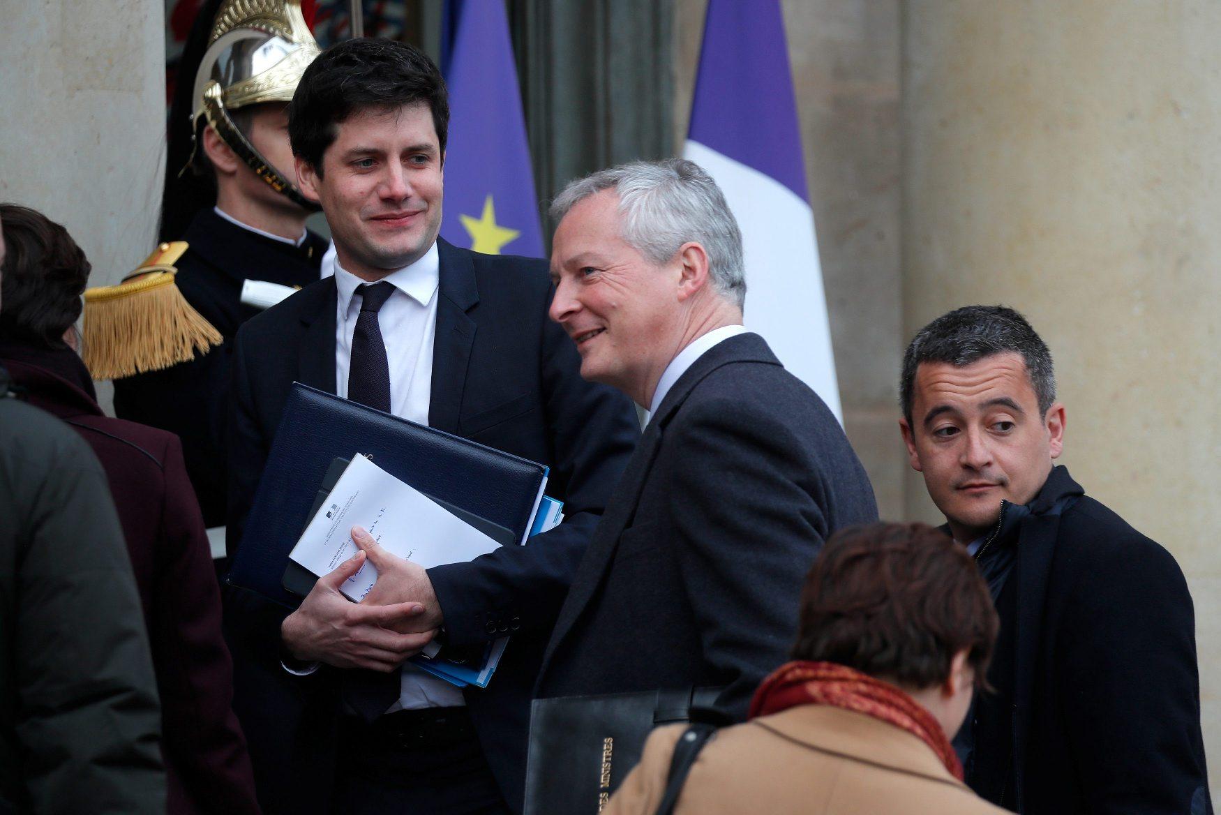 Fracnuski ministar financija Bruno Le Maire