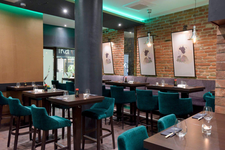 Zagreb, 180119. Ilica 49. Interijer restorana Evergreen Sushi. Foto: Darko Tomas / CROPIX