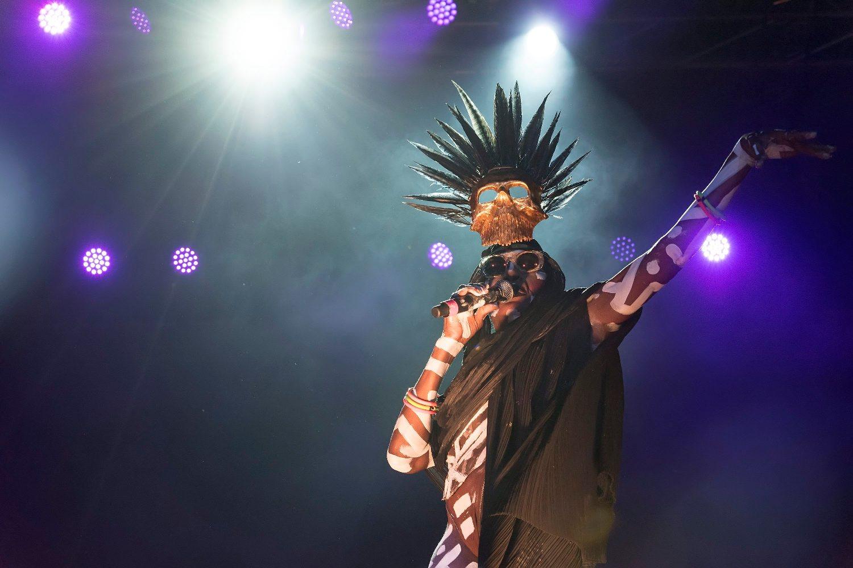 Grace Jones na festivalu Dimensions u Puli gostovala je u kolovozu 2017. godine