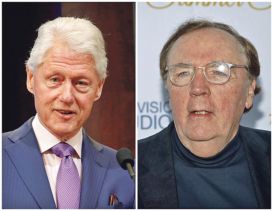 Bill Clinton (lijevo) i James Patterson (desno)