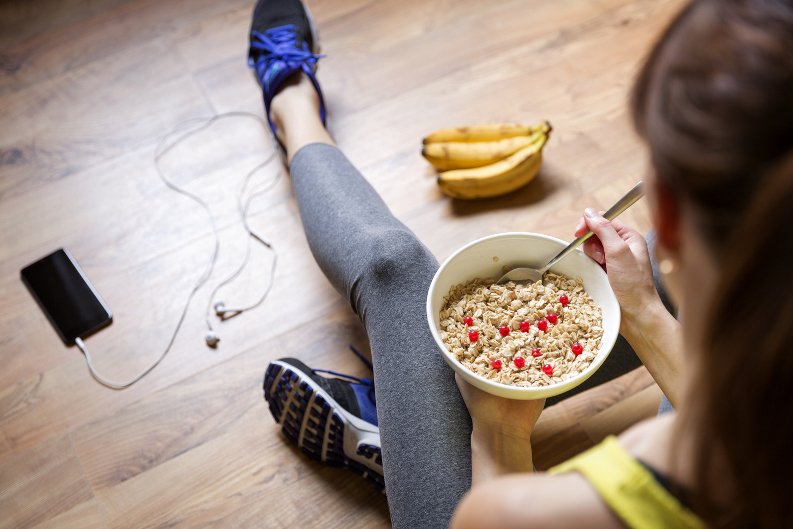 Ilustracija: Zdrava prehrana i tjelovježba