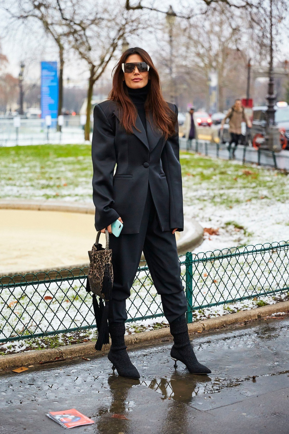 Street Style Street Style Spring Summer 2019, Haute Couture Fashion Week, Paris,  France - 22 Jan 2019, Image: 409461968, License: Rights-managed, Restrictions: , Model Release: no, Credit line: Profimedia, TEMP Rex Features