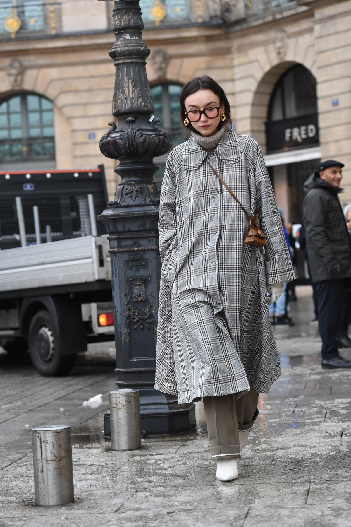 Street Style Street Style, Spring Summer 2019, Haute Couture Fashion Week, Paris,  France - 22 Jan 2019, Image: 409471197, License: Rights-managed, Restrictions: , Model Release: no, Credit line: Profimedia, TEMP Rex Features