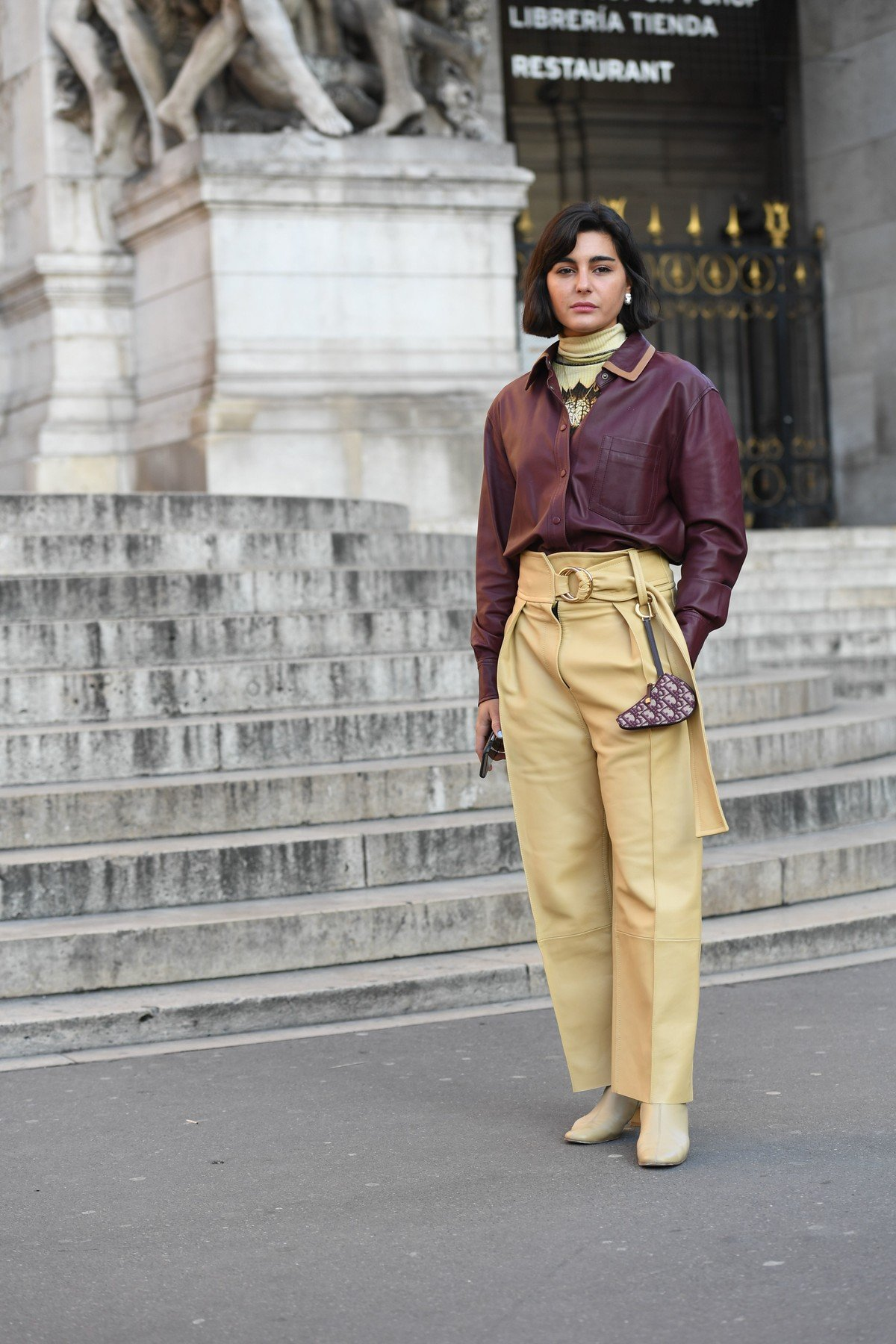 Street Style Street Style, Spring Summer 2019, Haute Couture Fashion Week, Paris,  France - 21 Jan 2019, Image: 409187032, License: Rights-managed, Restrictions: , Model Release: no, Credit line: Profimedia, TEMP Rex Features