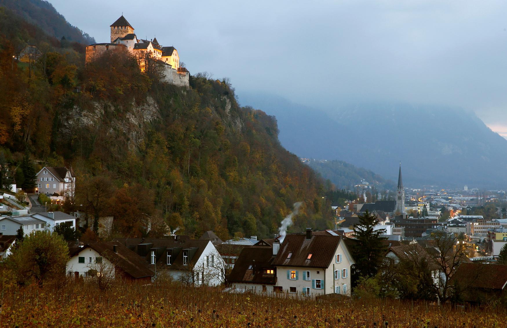 Vaduz, glavni grad Lihtenštajna