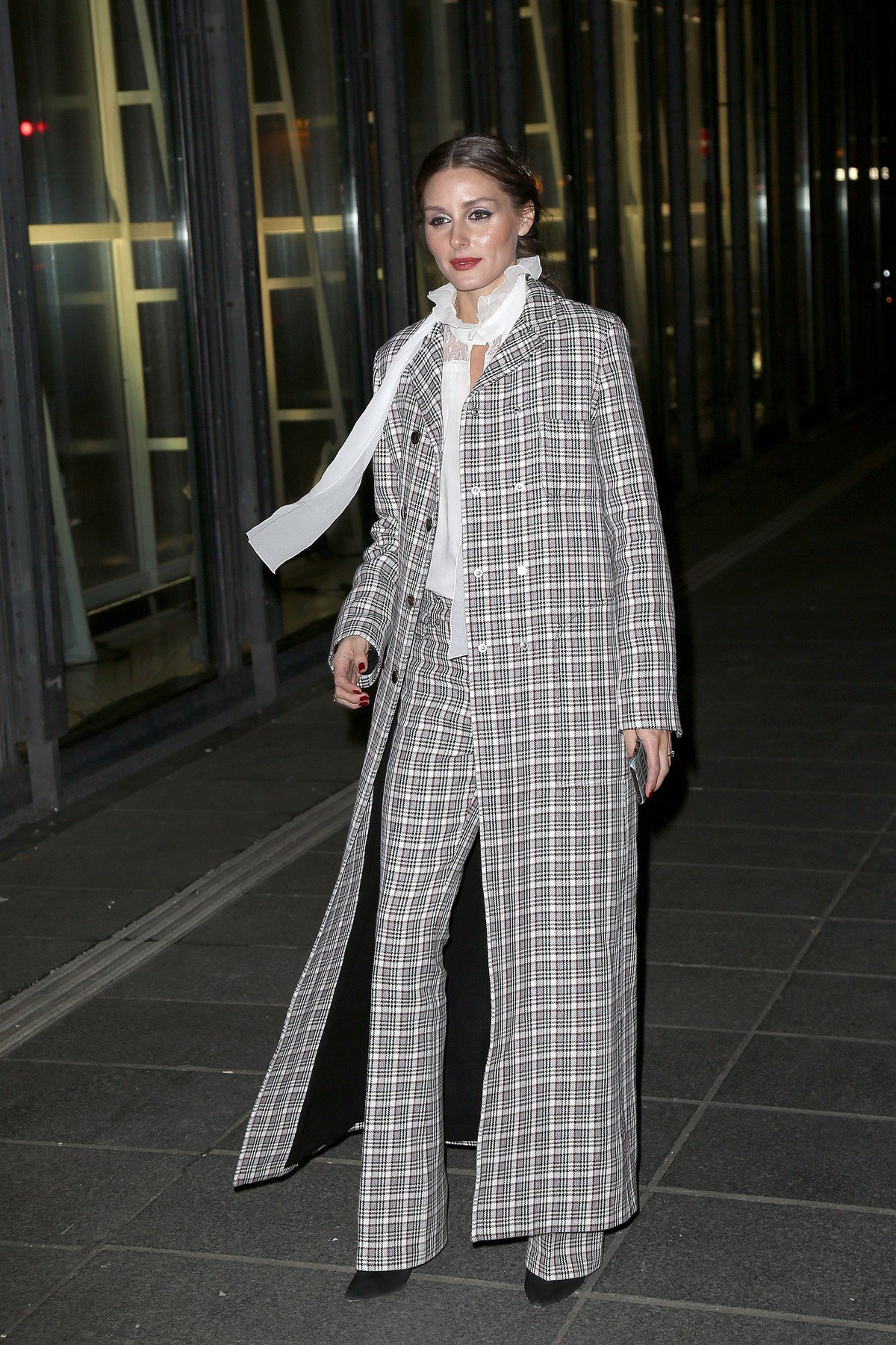 Olivia Palermo - Outside Arrivals at Antonio Grimaldi Fashion Show Couture Spring/Summer 2019 during the Paris Fashion Week on January 21, 2019.//HAEDRICHJM_034JMH/1901220849/Credit:Jean-Marc HAEDRICH/SIPA/1901220855, Image: 409205077, License: Rights-managed, Restrictions: , Model Release: no, Credit line: Profimedia, TEMP Sipa Press