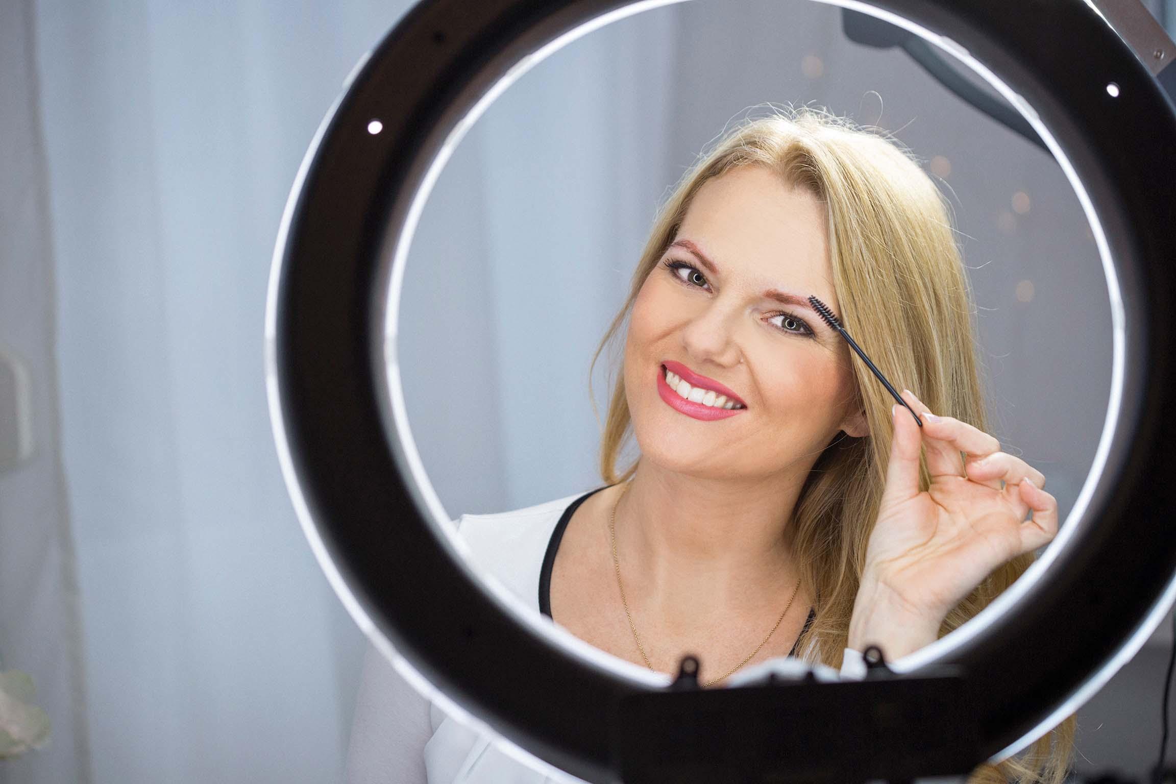 Beauty Nano blading Model Danijela Pintaric.  Kozmeticarka Iva Grguric.  Zagreb Fotograf Matej Dokic 211218