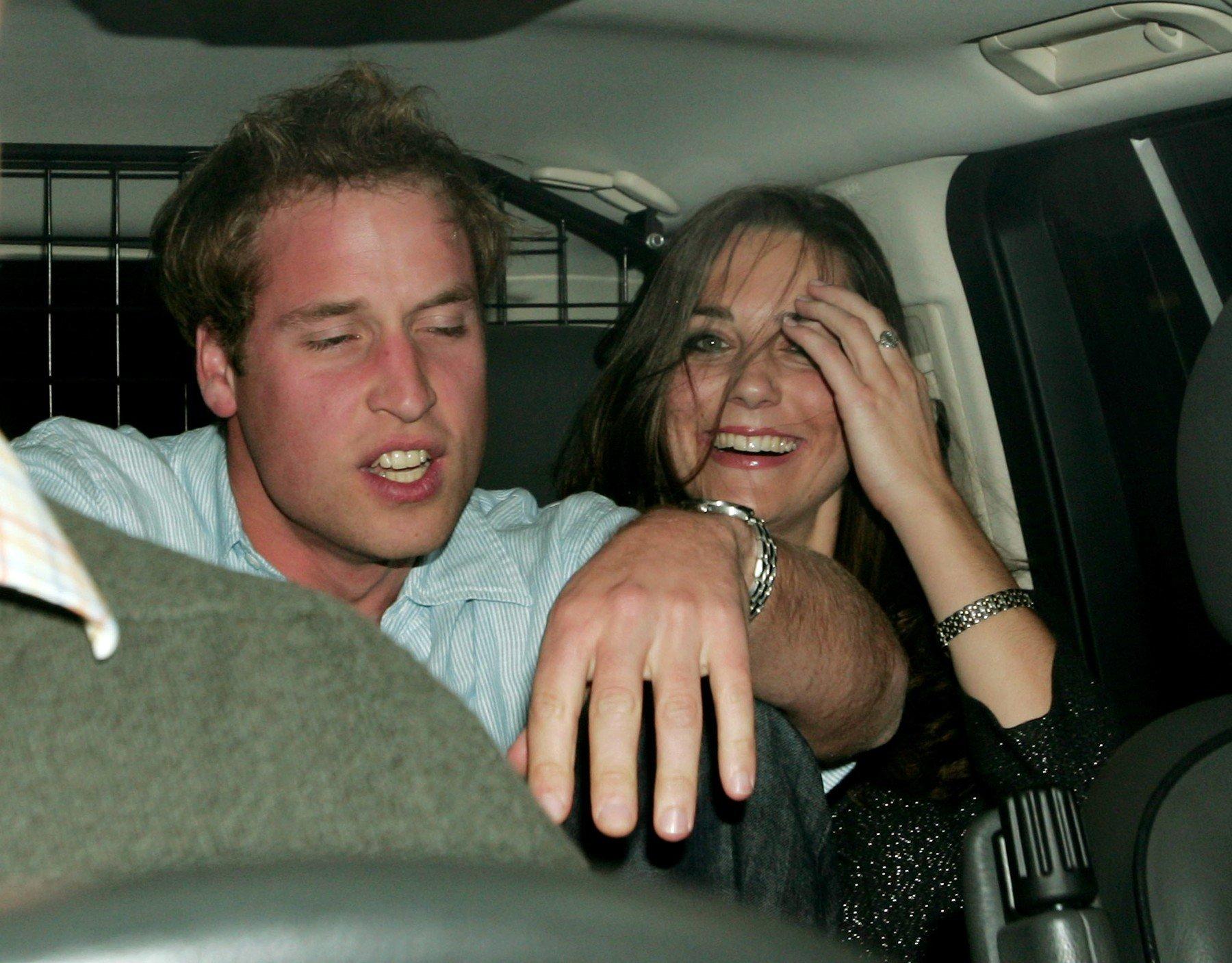 Izlazak zaljubljenog para u noćni klub Bouji's u listopadu 2007.